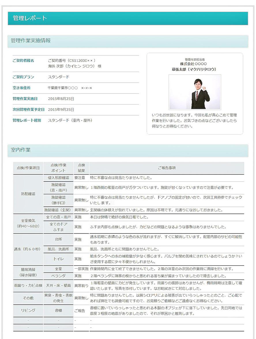 管理レポートイメージ1